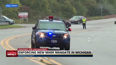 Police agencies weigh in on enforcing Michigan mask order
