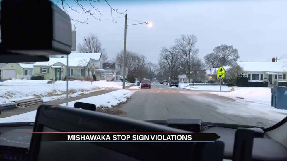Police crack down on dozens of drivers violating stop signs near elementary school