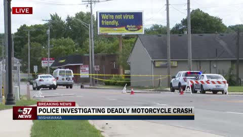 Police investigating fatal crash on Union Street involving motorcycle