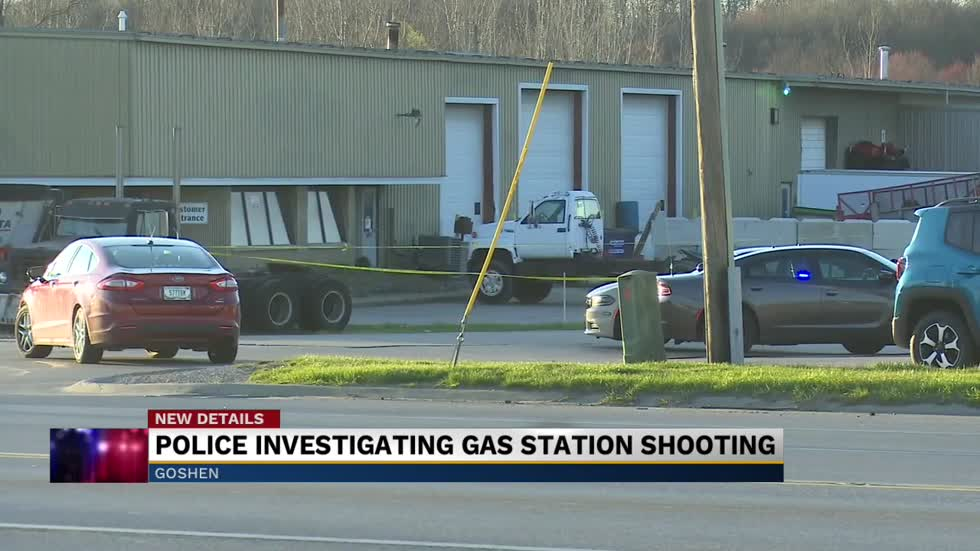 Police investigating shooting at gas station in Goshen; suspect taken into custody