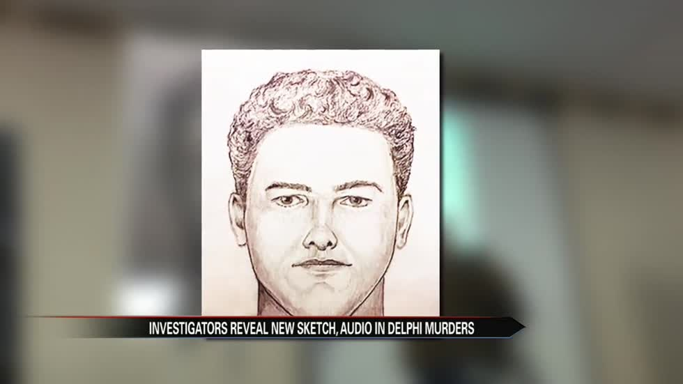 Police release new audio, video, suspect sketch in Delphi murders