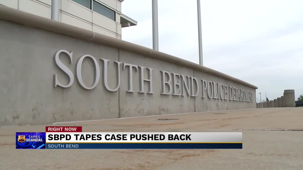 Decision to take South Bend police tapes case to trial pushed back