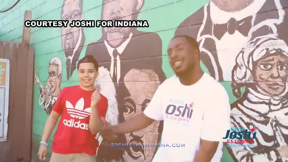 Political candidate teams up with local rap artist for campaign ad