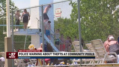 Mishawaka Police investigating thefts from kids at Merrifield Park Pool