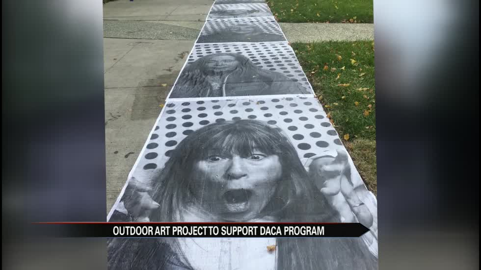 DACA outdoor art project stops in South Bend