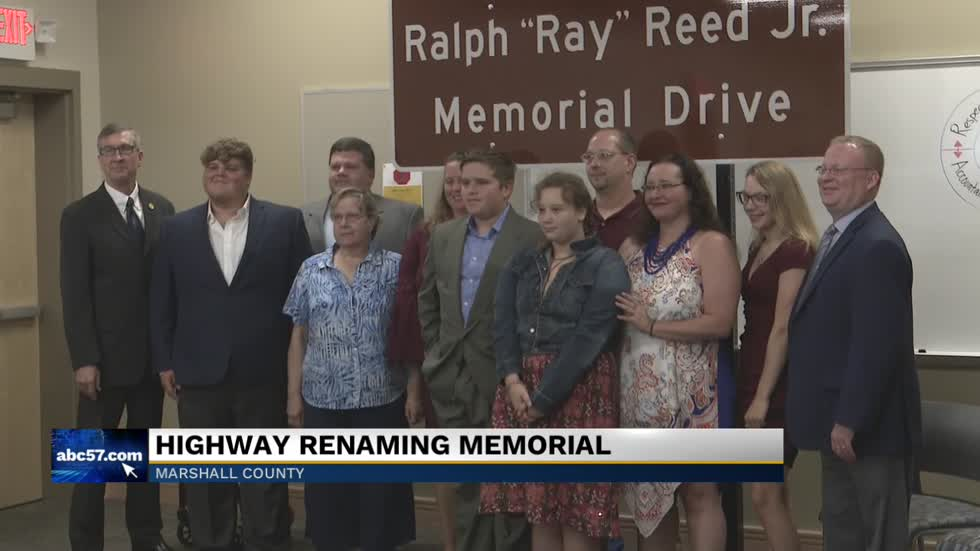 Portion of US 30 renamed for ISP motor carrier inspector Ray Reed Jr
