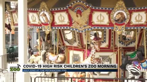 Potawatomi Zoo hosting special event for at-risk children