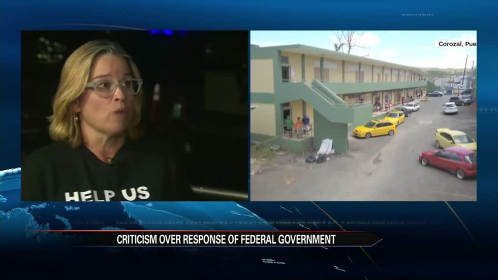 PR is responding to the Federal Aid they've been receiving