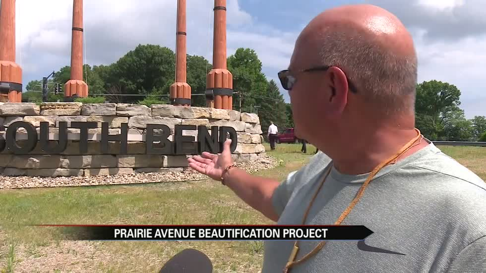 Prairie Avenue Beautification Project wraps up on Monday
