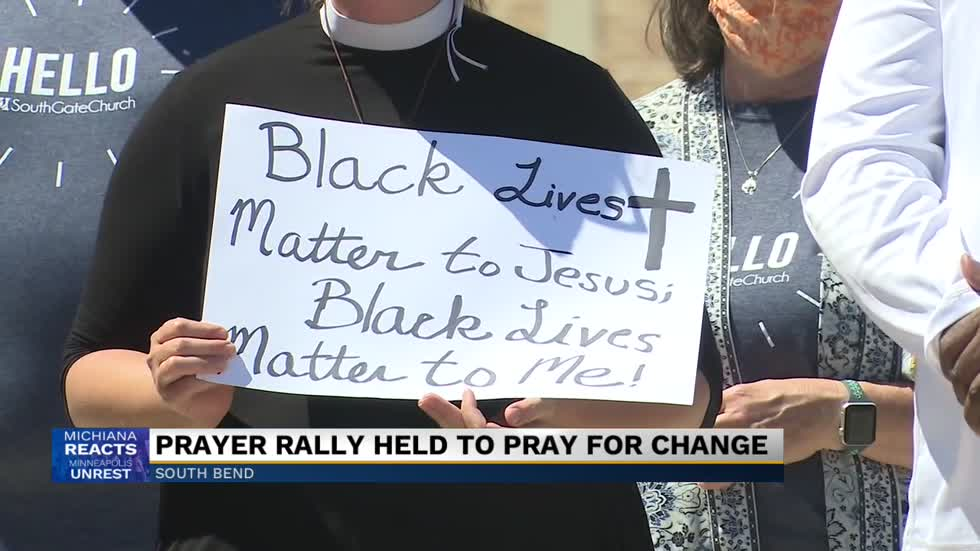 Prayer rally held in South Bend