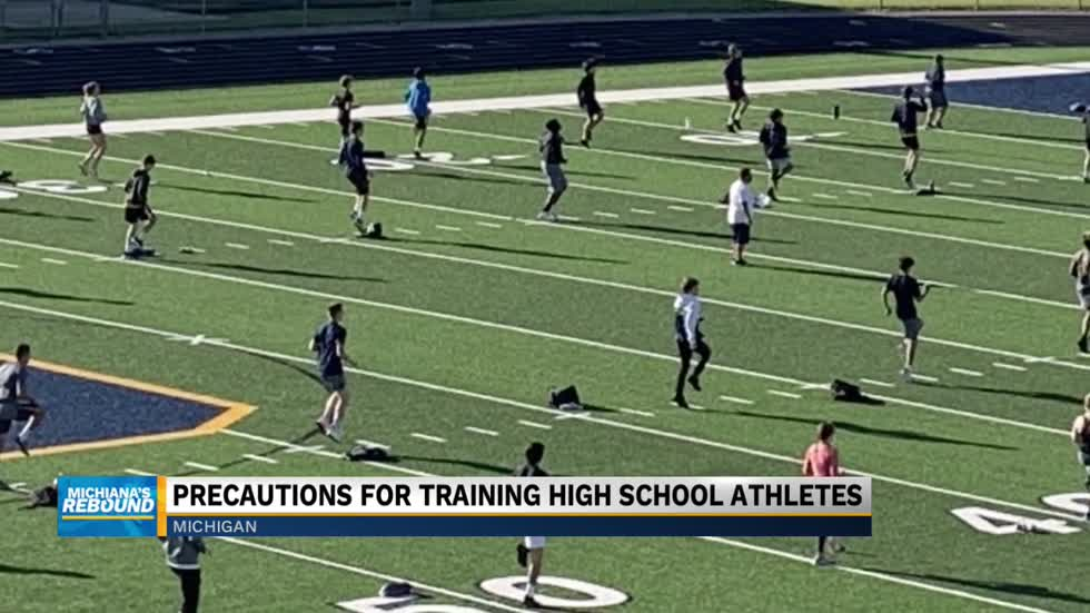 Precautions for training high school athletes