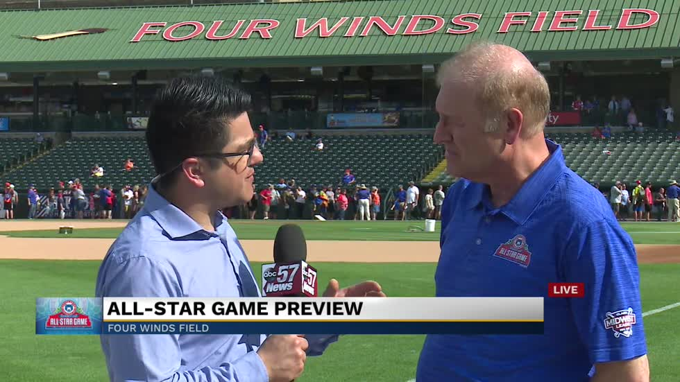President of Midwest League Dick Nussbaum