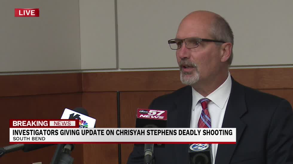 Press conference about arrest in Chrisyah Stephens homicide