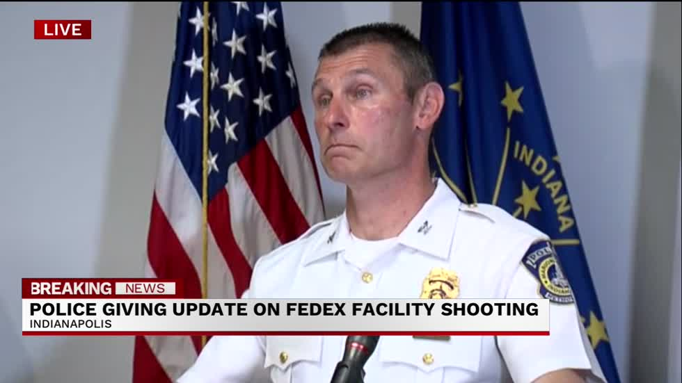 VIDEO: 8 killed, 5 injured in mass shooting in Indianapolis