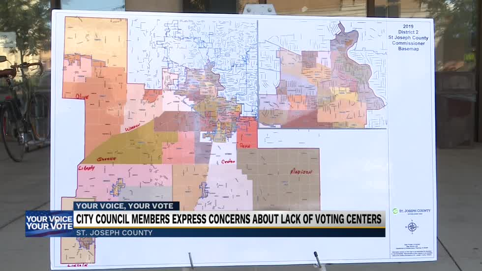 Press conference for voting center issues held Monday