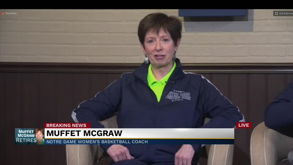 Notre Dame Coach Muffet McGraw announces retirement