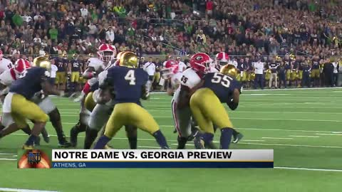 Ticket prices soar ahead of Notre Dame vs. Georgia