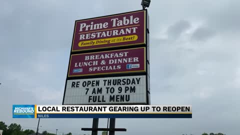 Prime Table prepares for grand reopening