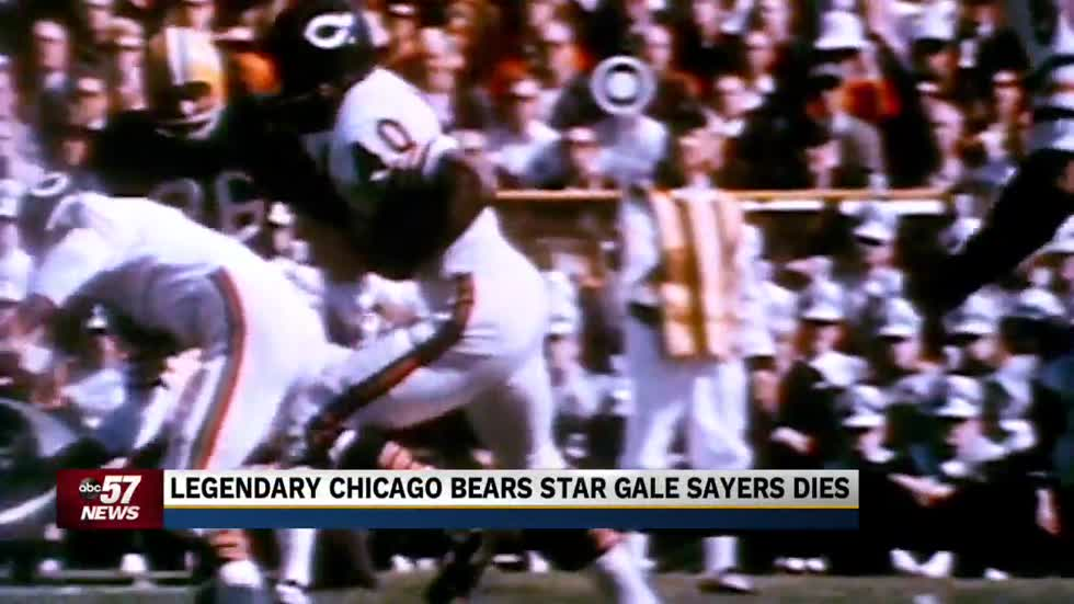 Pro football legend Gale Sayers dies at age 77