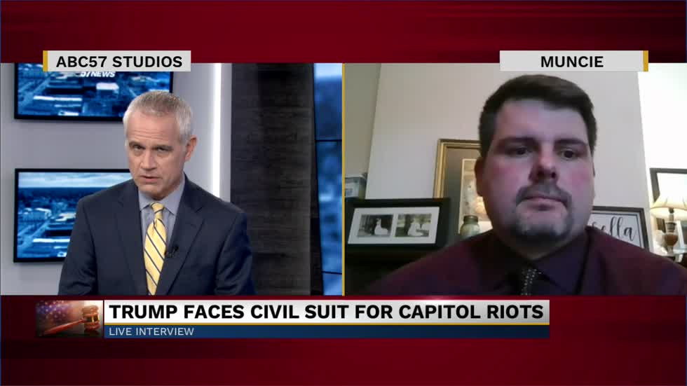 Professor Chad Kinsella discusses civil lawsuit against former President Donald Trump