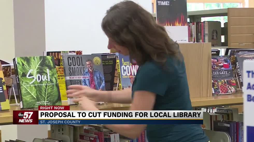 Proposal could cut revenue for St. Joseph County Library