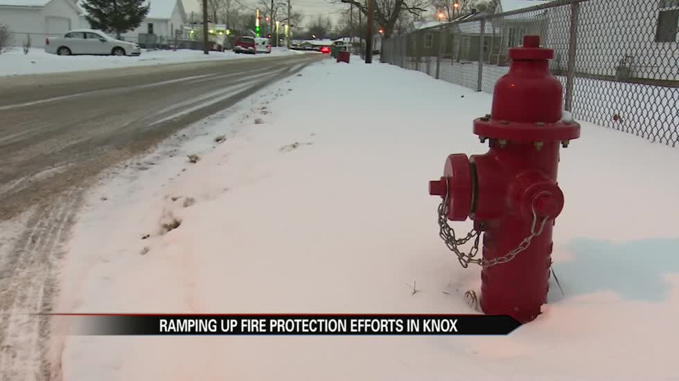 Knox ramping up fire protection measures with more hydrants