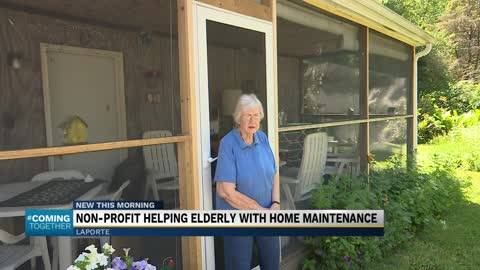 Rebuilding Together LaPorte helping senior homeowners with home maintenance