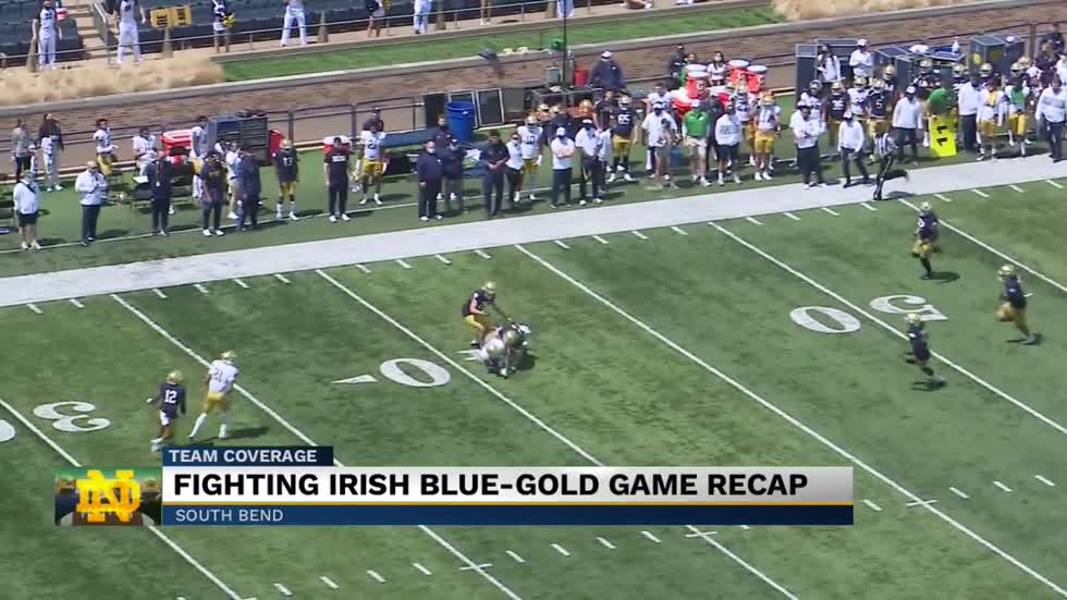 Recapping the Fighting Irish Blue-Gold game