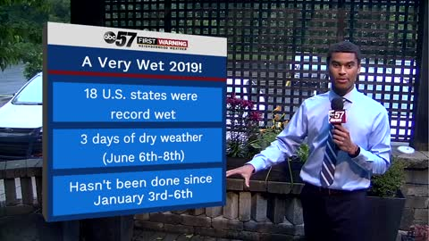 Record wet 12-month span for multiple states