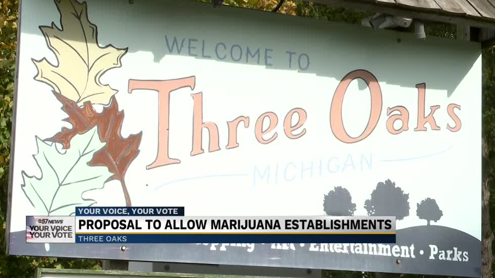 Recreational marijuana establishments on the ballot in Three...