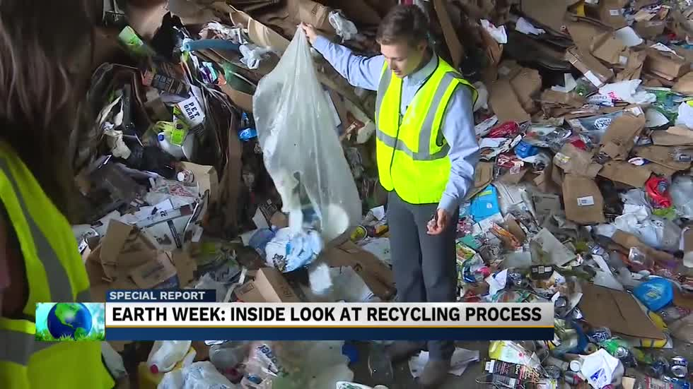Inside the recycling process at Recycling Works