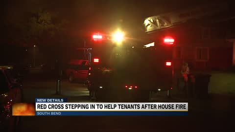 Red Cross helping victims of South Bend house fire