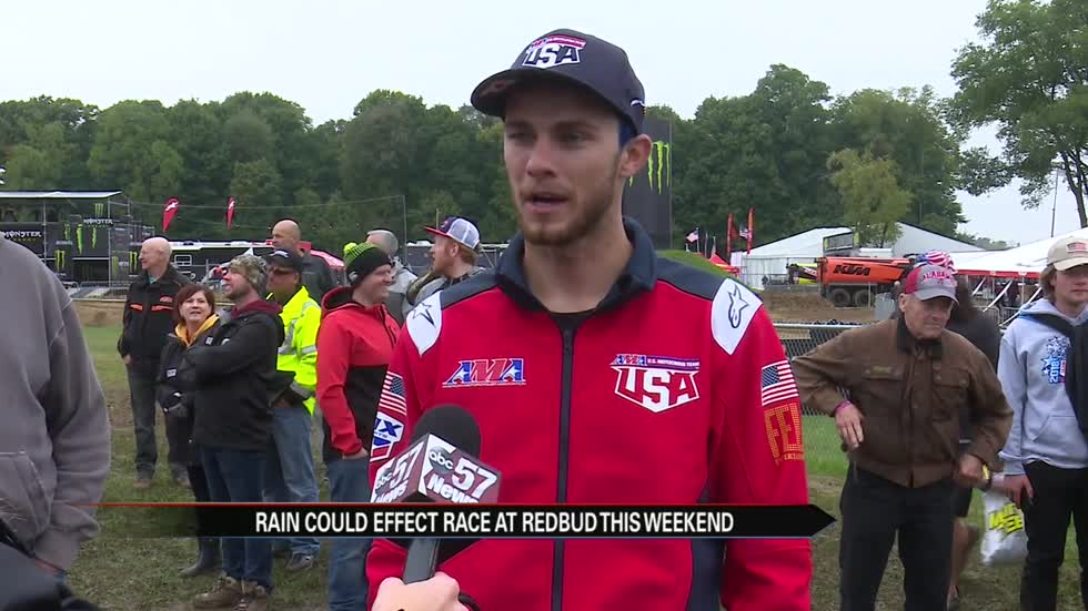 Redbud hosts event for racers from all over the world