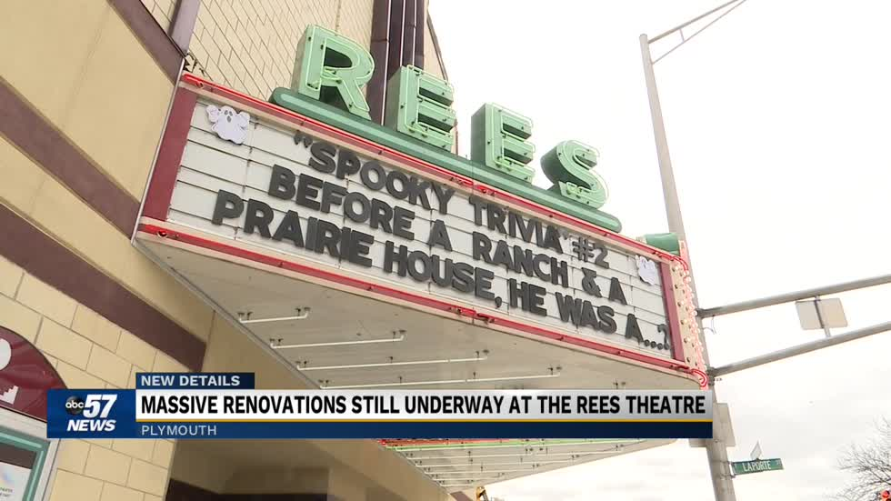 Rees Theatre soon to enter phase four of restoration project