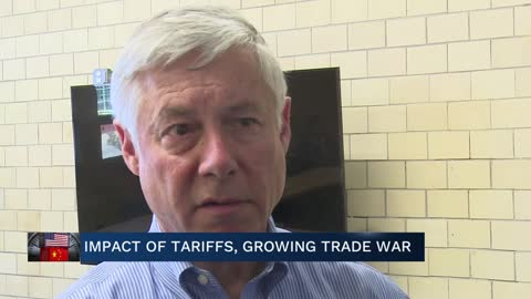 Rep. Upton speaks on trade war 6pm
