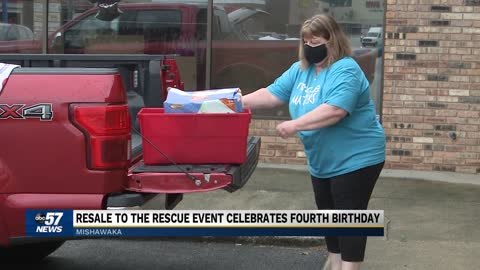 Resale to the rescue giving back on their fourth birthday
