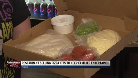 Restaurant selling pizza kits to keep families entertained