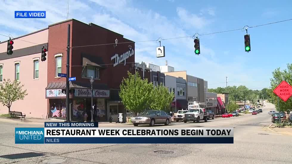 "Niles celebrating ""restaurant week"" to promote local businesses"