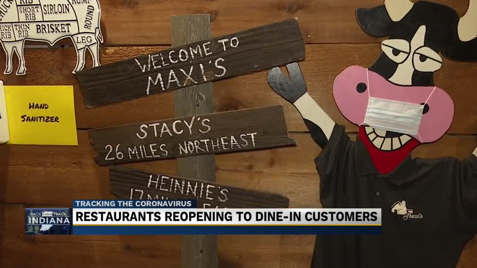 Restaurants reopening to dine-in customers