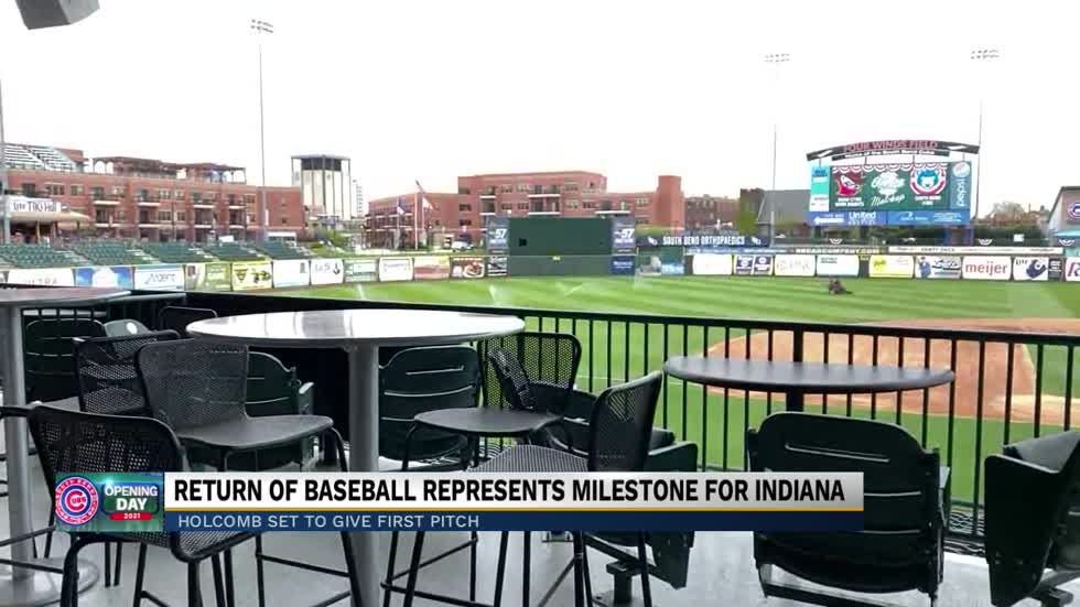 Return of baseball represents milestone for Indiana