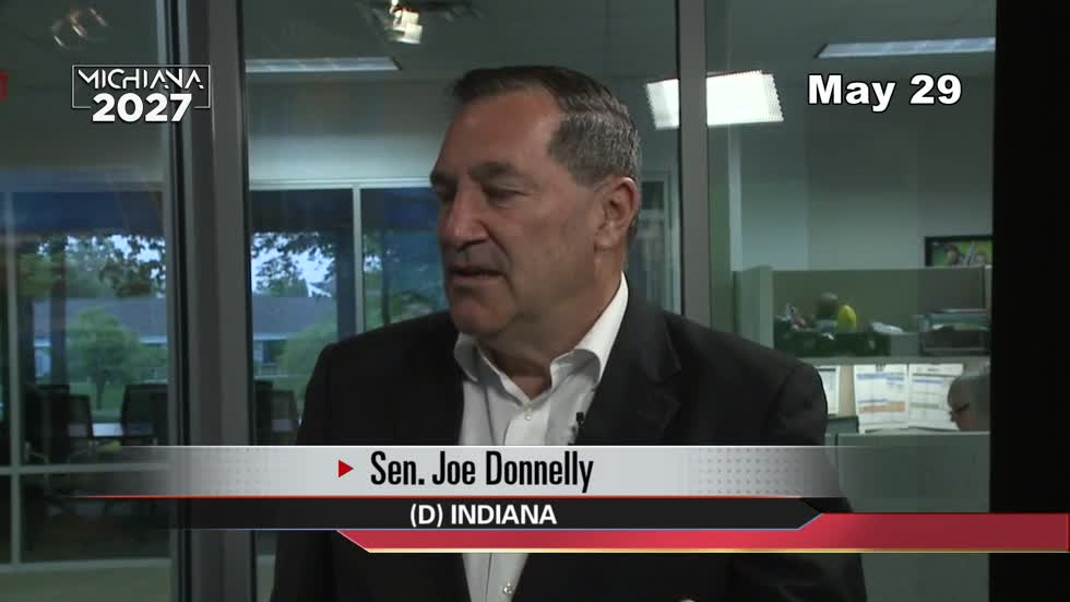 'Right to Try' bill signing earns praise for Sen. Joe Donnelly