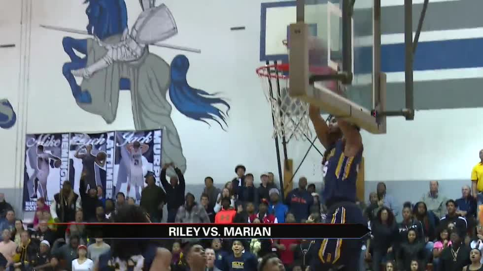 Riley survives Marian to stay unbeaten on the hardwood