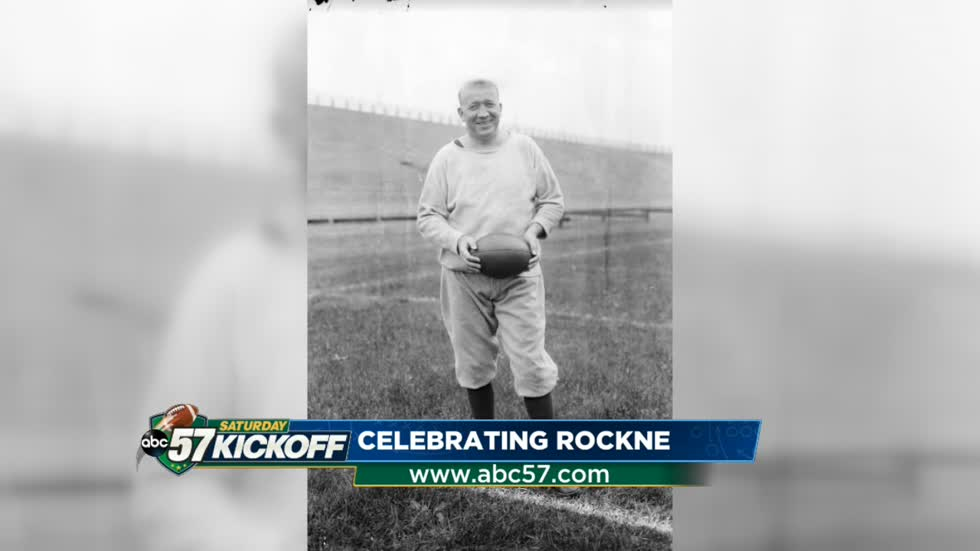 Rockne honored by Notre Dame in game versus Navy