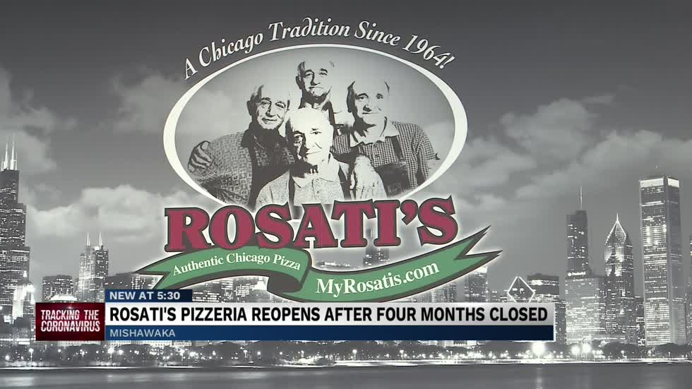 Rosati's Pizza in Mishawaka reopens after a long hiatus