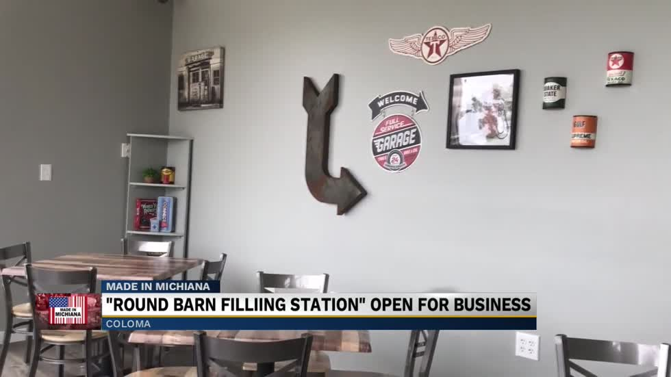 Round Barn opens Filling Station in old Texaco gas station