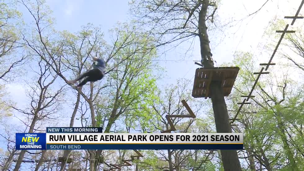 Rum Village Aerial Park kicking off the 2021 season with visitors driven by outdoor activities