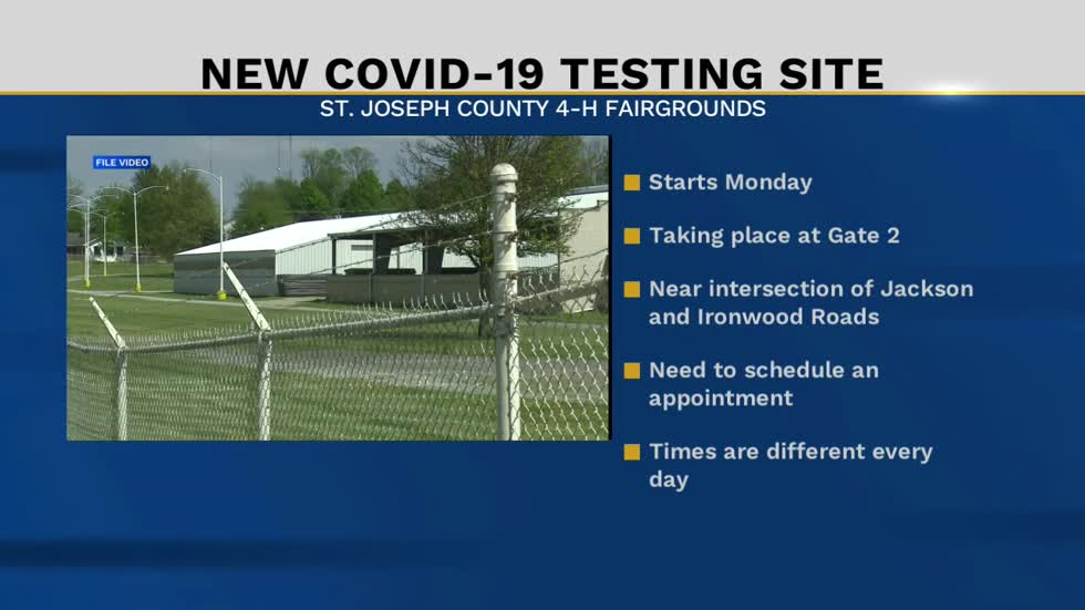 Saint Joseph Health System moves COVID-19 testing to the fairgrounds
