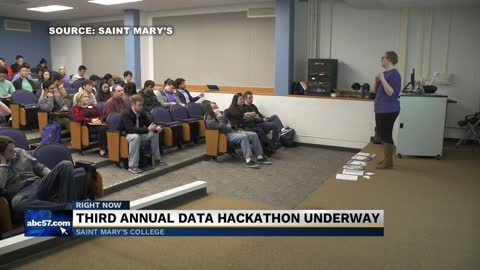 Saint Mary's College hosts 3rd Annual Data Science Hackathon