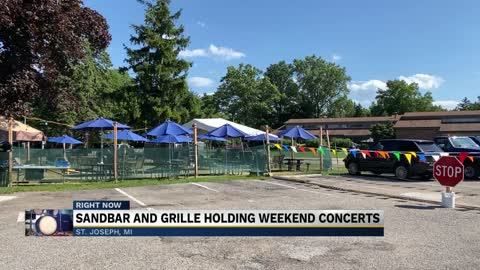 Sandbar & Grille kicks off live music with new, outdoor space