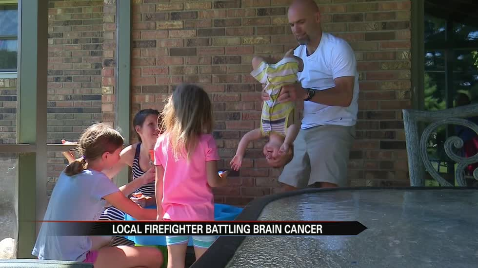 Community rallies behind South Bend firefighter battling brain cancer